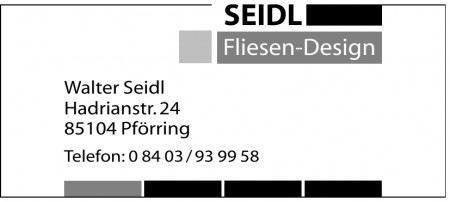 Seidl Fliesen-Design