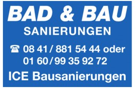 Bad & Bau Sanierungen - ICE Bausanierungen